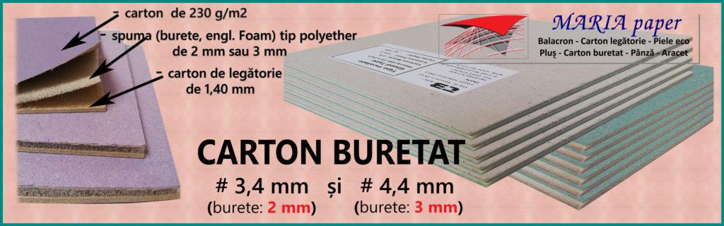 Carton buretat
